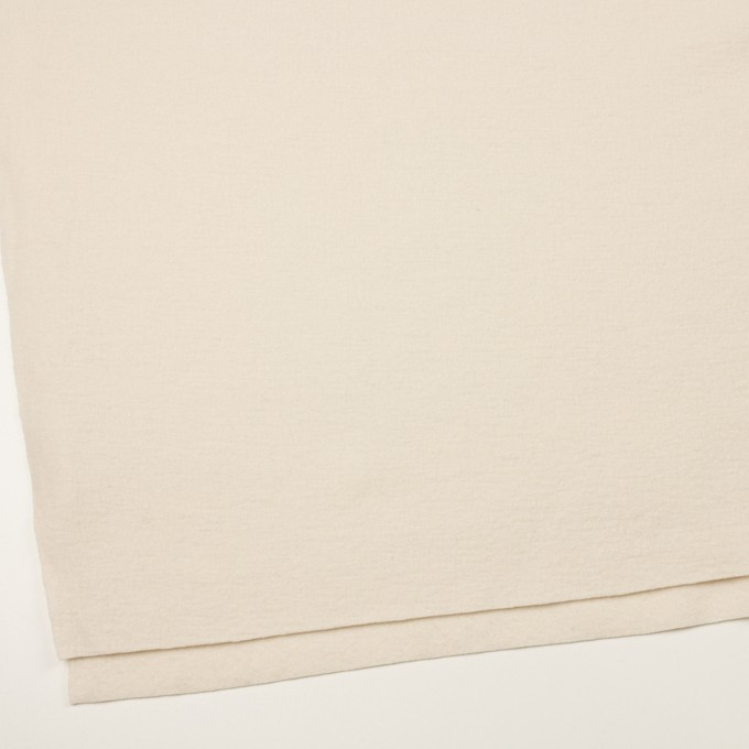 ウール&ナイロン×無地(エクリュ)×圧縮ニット イメージ2