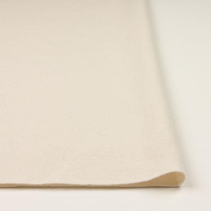 ウール&ナイロン×無地(エクリュ)×圧縮ニット イメージ3