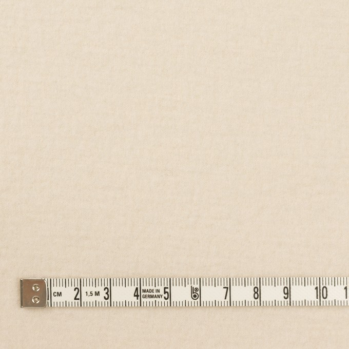 ウール&ナイロン×無地(エクリュ)×圧縮ニット イメージ4