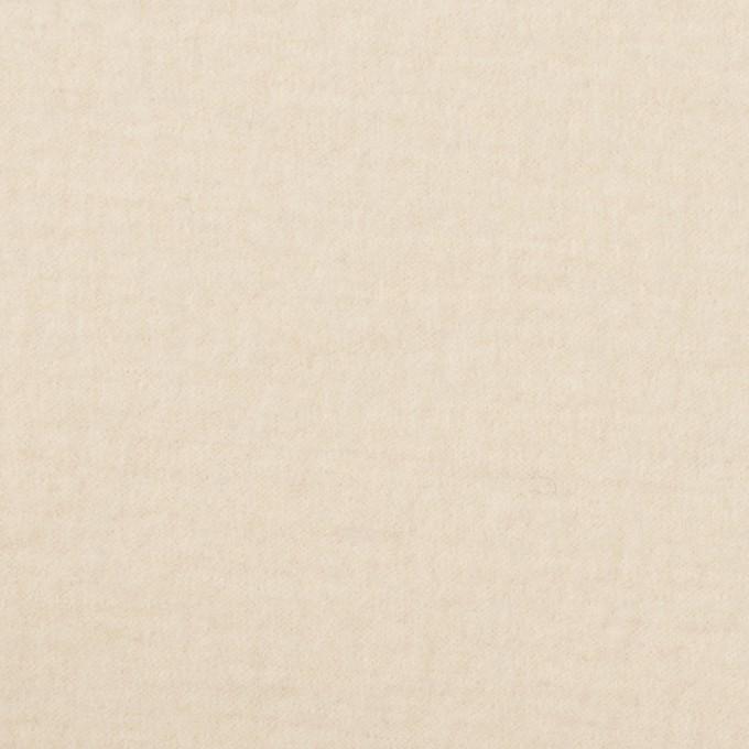 ウール&ナイロン×無地(エクリュ)×圧縮ニット イメージ1