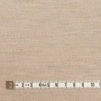 ウール×ミックス(オートミール)×スムースニット サムネイル4