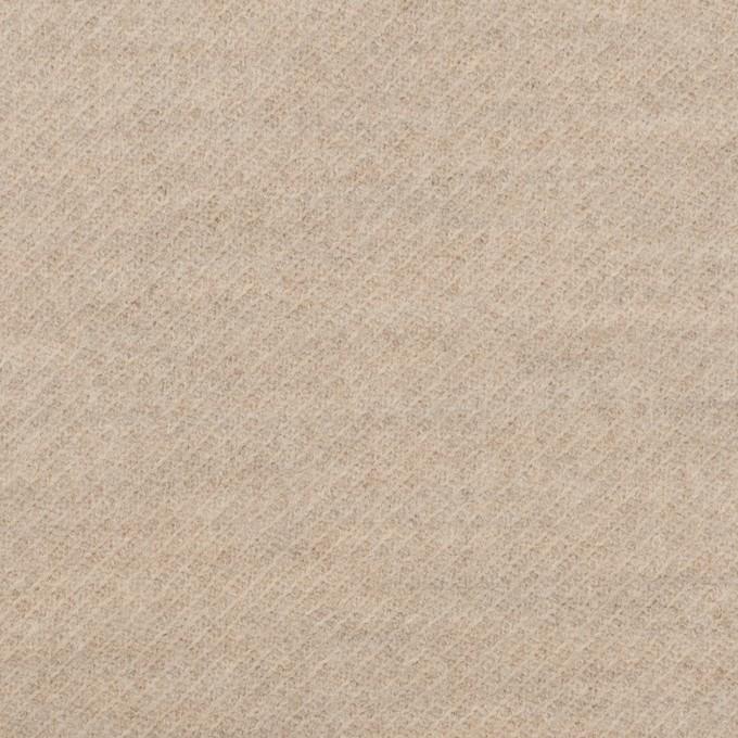ウール&ナイロン×ミックス(オートミール)×ジャガードニット イメージ1