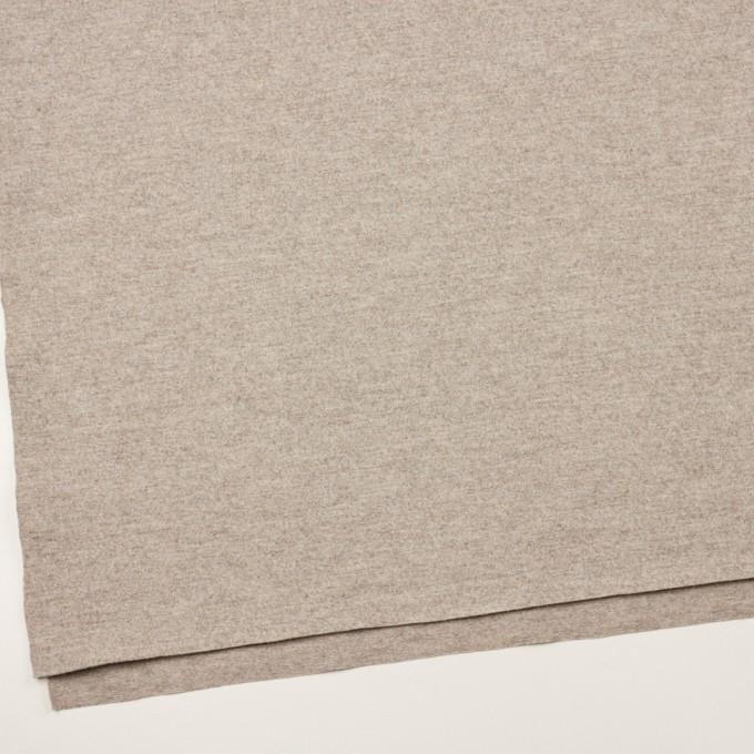 ウール×ミックス(オートミール)×圧縮ニット イメージ2