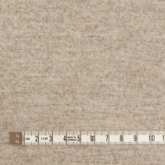 ウール×ミックス(オートミール)×圧縮ニット イメージ4