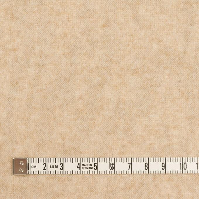 ウール&ナイロン×ミックス(ベージュ)×天竺ニット イメージ4