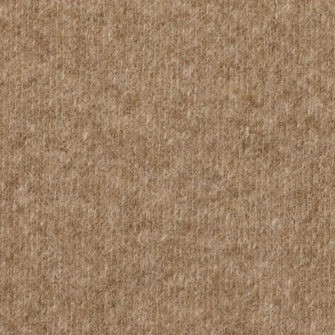 ウール×無地(アッシュブラウン)×Wニット イメージ1