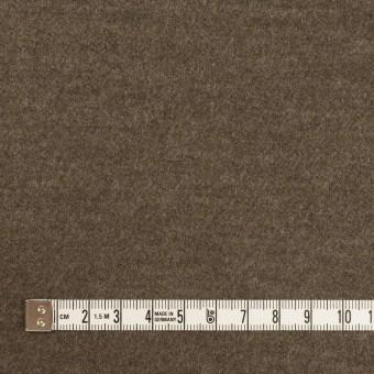 ウール&ナイロン×無地(チャコールブラウン)×圧縮ニット サムネイル4