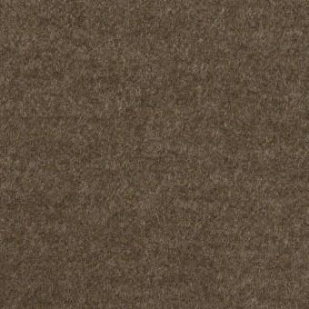 ウール&ナイロン×無地(チャコールブラウン)×圧縮ニット サムネイル1
