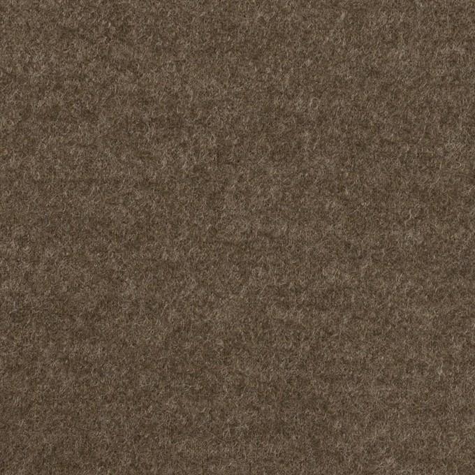ウール&ナイロン×無地(チャコールブラウン)×圧縮ニット イメージ1