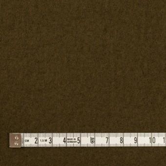 ウール×無地(ダークオリーブ)×圧縮ニット サムネイル4