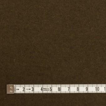 ウール&ナイロン×無地(ダークオリーブ)×天竺ニット サムネイル4