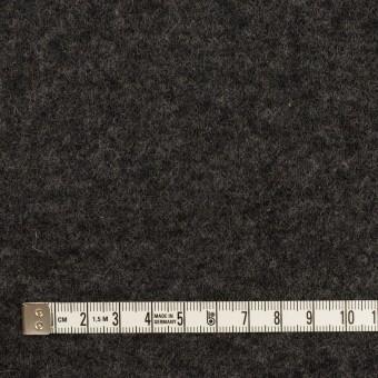 ウール×無地(チャコールグレー&ダークブラウン)×Wニット サムネイル4