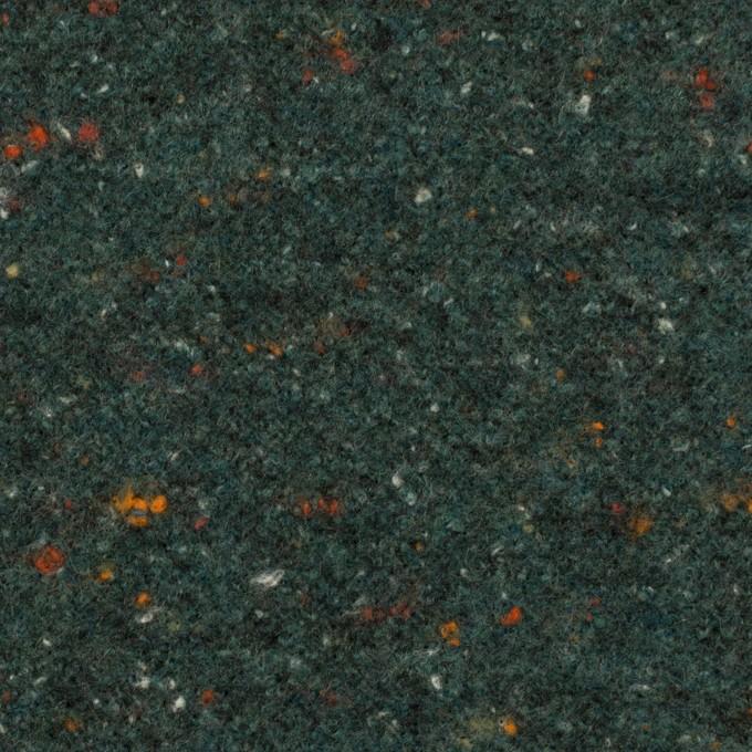 ウール&ポリエステル×ミックス(バルビゾン)×ループニット_全2色 イメージ1