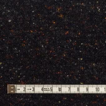 ウール&ポリエステル×ミックス(チャコールブラック)×ループニット_全2色 サムネイル4