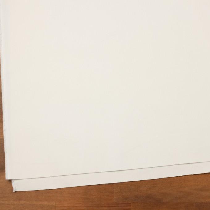コットン&ポリウレタン×無地(ミルク)×細コーデュロイ・ストレッチ イメージ2