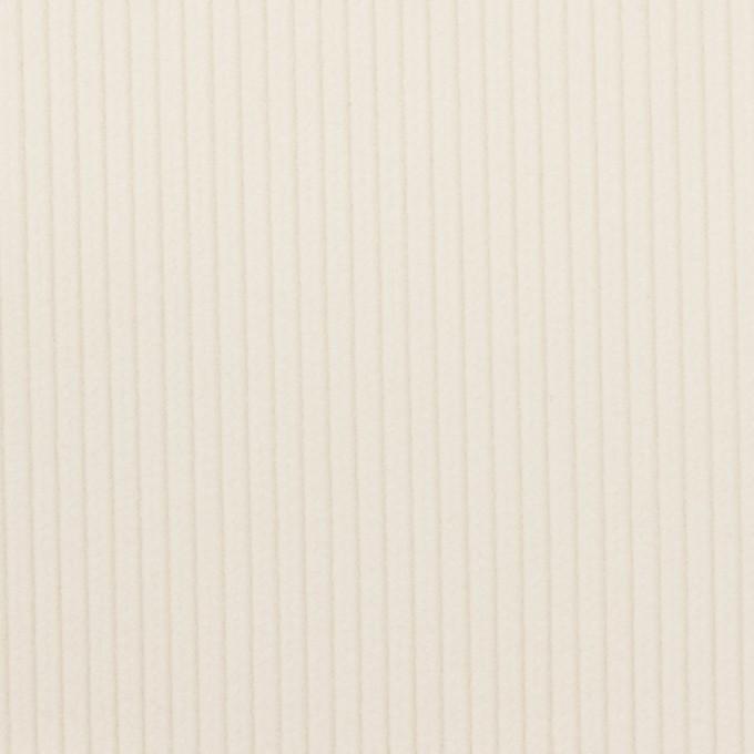 コットン&ポリウレタン×無地(ミルク)×中コーデュロイ・ストレッチ イメージ1
