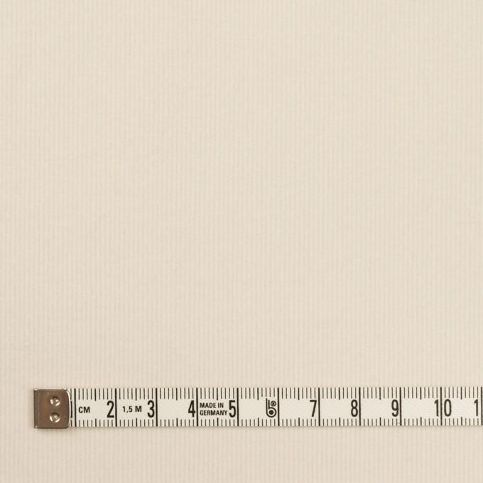 コットン&ポリウレタン×無地(バニラ)×細コーデュロイ・ストレッチ イメージ4