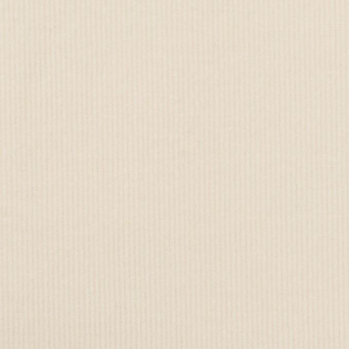 コットン&ポリウレタン×無地(バニラ)×細コーデュロイ・ストレッチ イメージ1