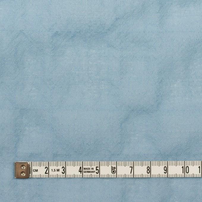 ウール&ナイロン混×無地(サックス)×ガーゼシャーリング イメージ4