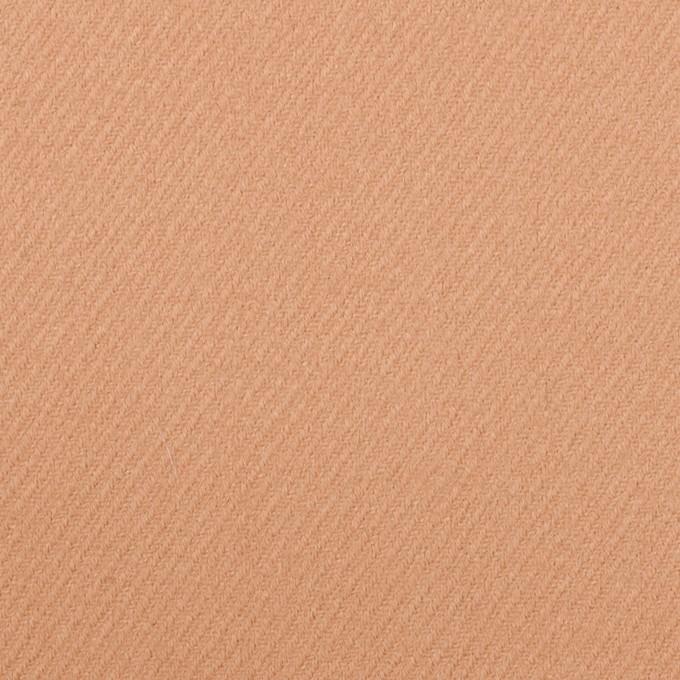 ウール×無地(アプリコット)×サキソニー イメージ1