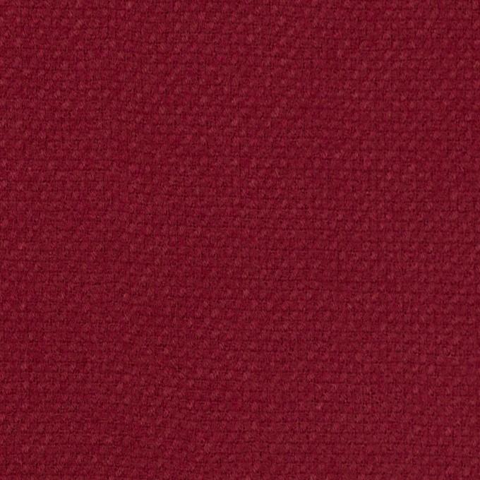 ウール×無地(バーガンディーレッド)×斜子織 イメージ1