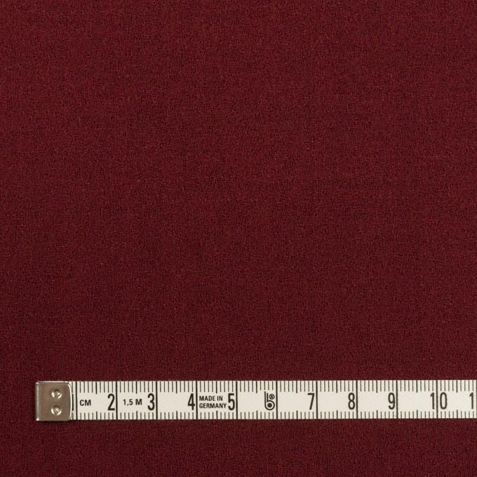 ウール×無地(クランベリー)×ジョーゼット イメージ4