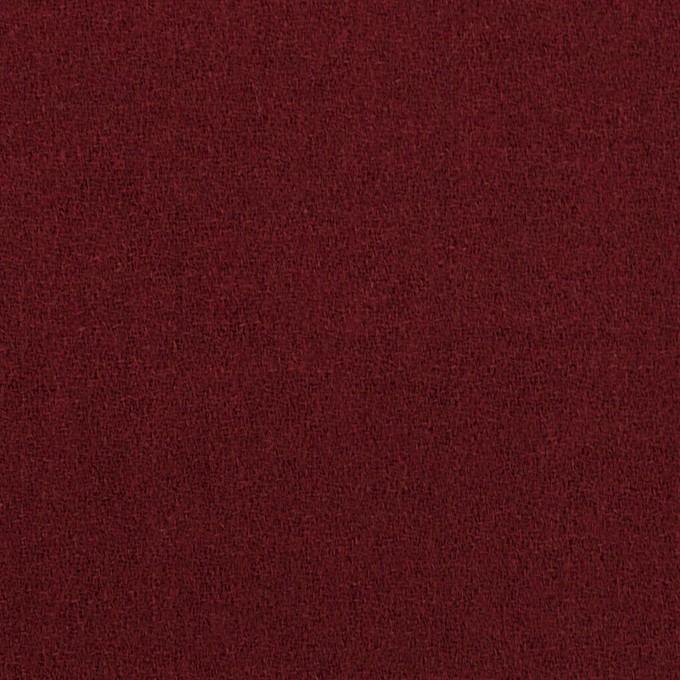 ウール×無地(クランベリー)×ジョーゼット イメージ1