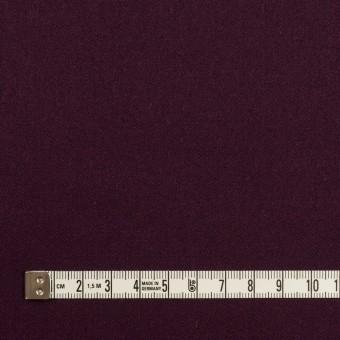 ウール&ポリウレタン×無地(プラムパープル)×サージストレッチ サムネイル4