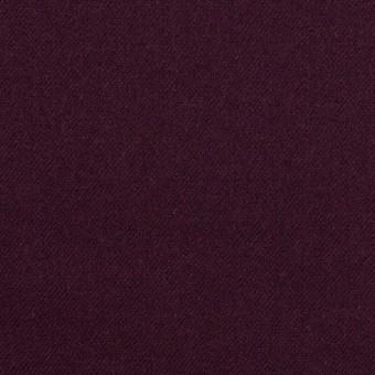ウール&ポリウレタン×無地(プラムパープル)×サージストレッチ サムネイル1