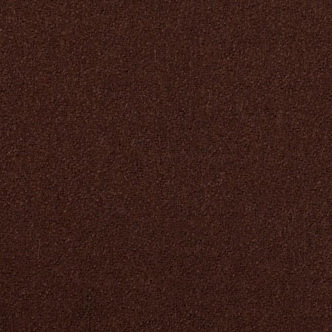 ウール×無地(ブラウン)×ジョーゼット イメージ1