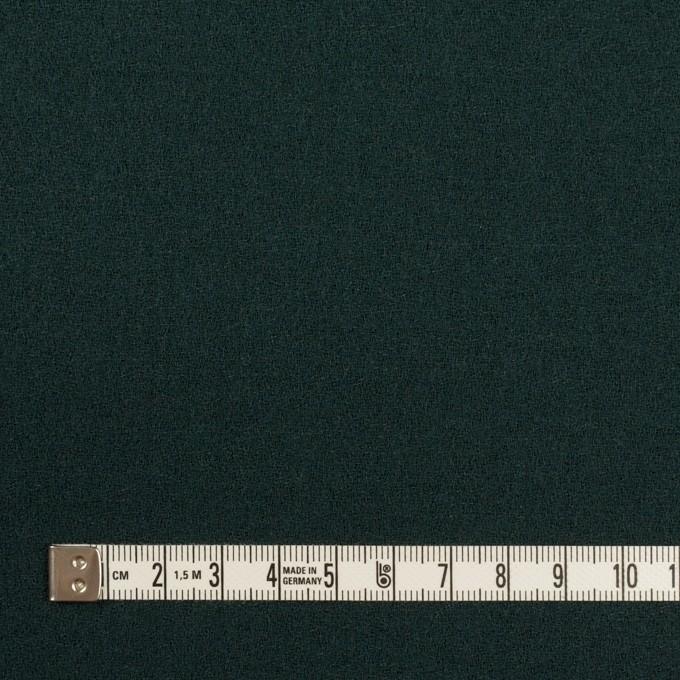 ウール×無地(モスグリーン)×ジョーゼット イメージ4