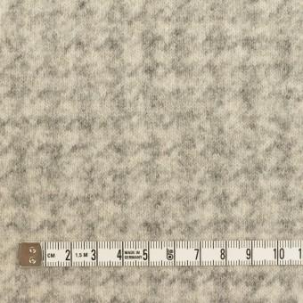 ウール&ナイロン×千鳥格子(エクリュ&グレー)×ジャガードニット_全2色 サムネイル4